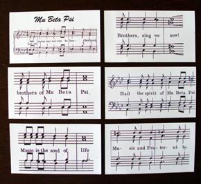 Sheet Music Magnet Set