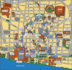 People Mover Map